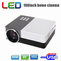 New Arrival!Full HD Mini  portable LED  1080P  Digital LCD 3D Multimedia player  home cinema Projector
