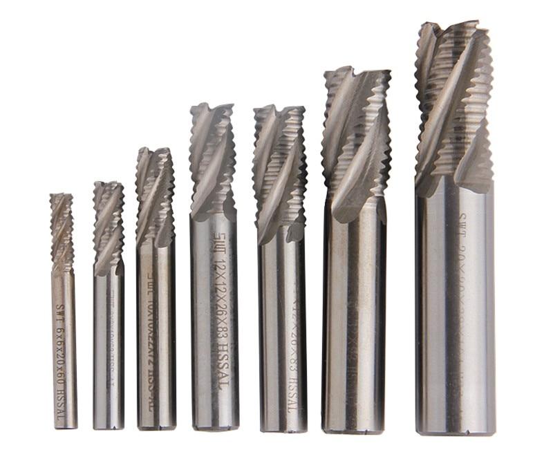 Solid-Carbide 1-16MM Gerader Schaft 4 Flöte CNC Fräsen Bohrer