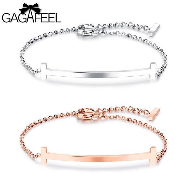 Gagafeel Stainless Steel Bracelet Custom Engrave