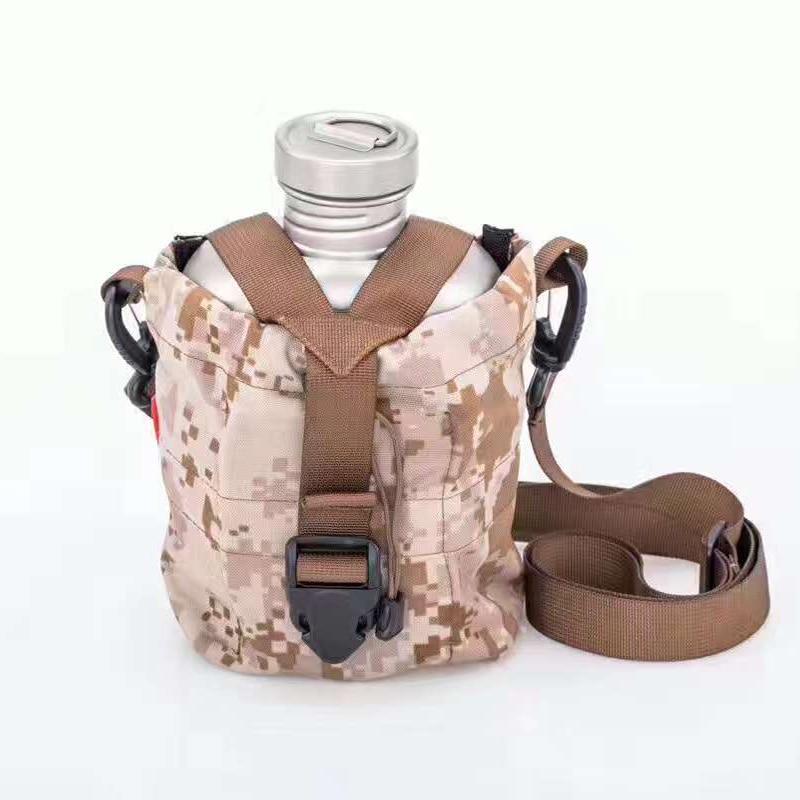 Кейт Титан чайник военный бутылка для воды Титан горшок столовой беспорядок комплект 1.1L + 0.7L w/Камуфляж сумка Ti3060 Прямая доставка