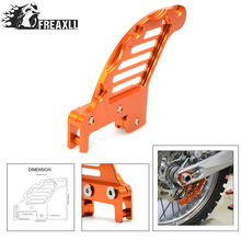 dirt bike Motorcycle accessories cnc aluminum Rear brake disc guard potector For Husaberg FE/FS/FX 250/350/390/450/501/570 цена