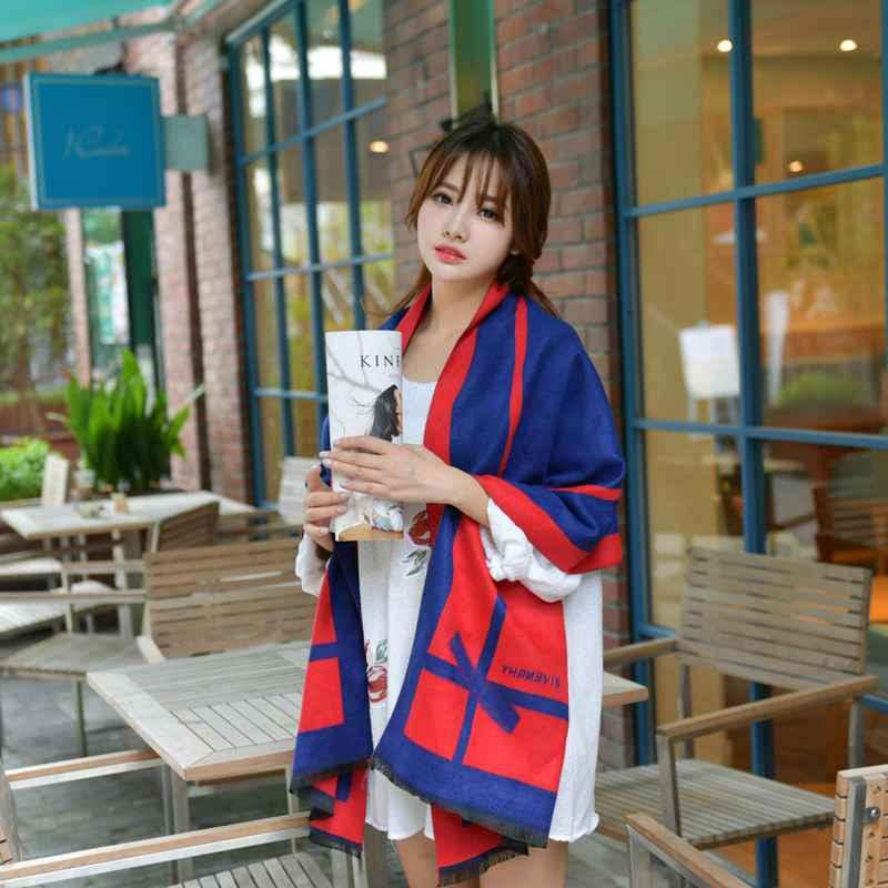 Brand Echarpe Hiver Femme 2016 font b Tartan b font Foulard Mujer Blanket Scarf Casual Shawls