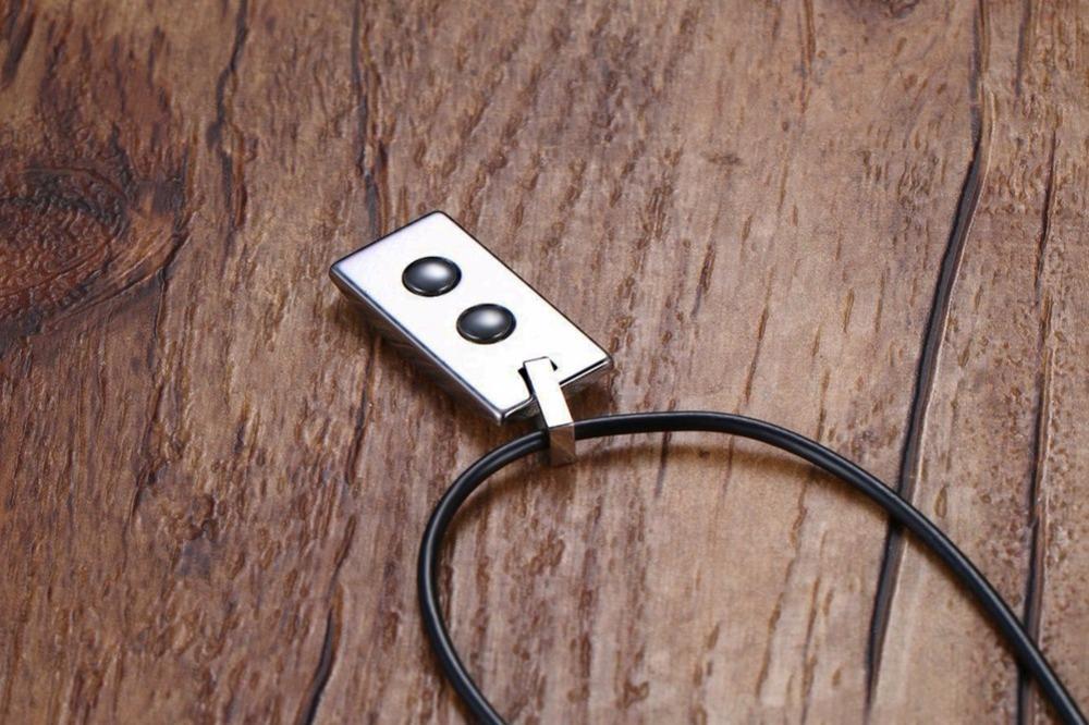 Men Tungsten carbide magnetic necklace 129