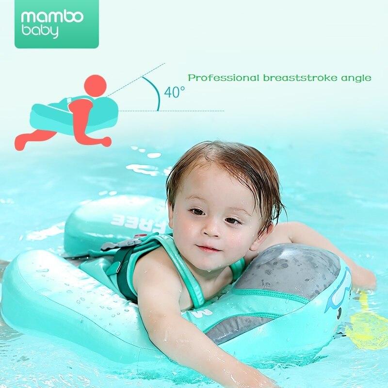 Couverture étanche solide pas besoin gonflable bébé anneau de natation flottant flotteur piscine jouet pour baignoire et entraîneur de natation