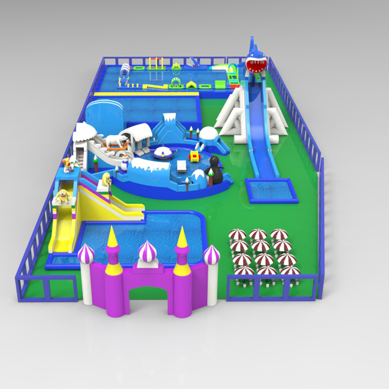 Land Pool Shark Theme Park Site Customization One-stop Water Paradise Made in China