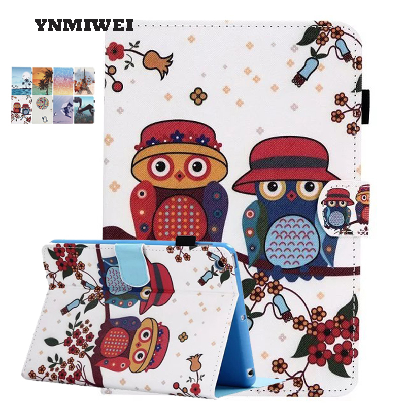 Air 2 Tablet Cases For Ipad Air 2 Ipad 6 Pad Cover 9.7 Cartoon Anime PU Leather Folding Folio Protective Shell With Stylus Pen air 2 case for ipad 6 ipad air 2 cases pu leather anime cartoon tablet pc pad protective case cover with earphone pocket