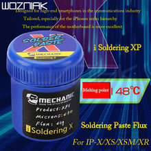 MECHANIC Soldering Paste Flux 148 degree Lead-free Solder Tin For Iphone x/xs/xsmax/xr motherboard layered welding dedicated