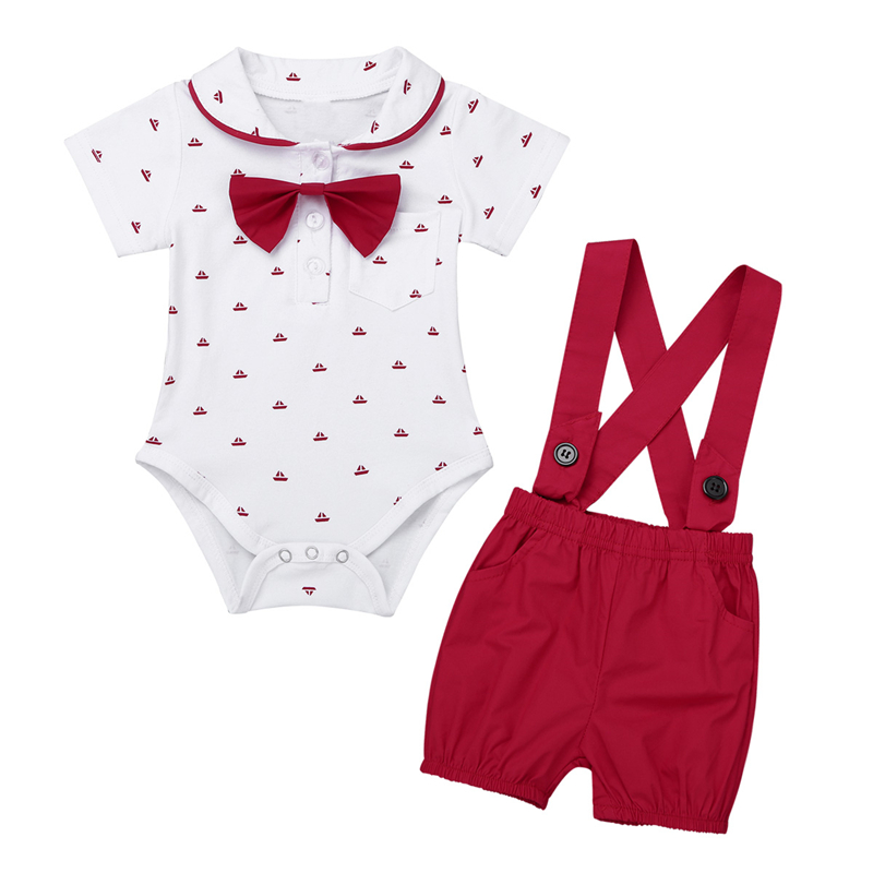 Infantil Baby Boys First Birthday Outfit Clothing Set