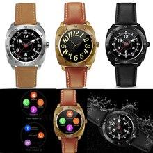 Smartwatch Bluetooth Pulsmesser Schrittzähler Wasserdichte Uhr armband Für Ios und Android handys