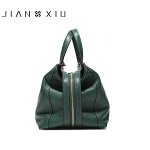 Сумка JIANXIU Женская, из натуральной кожи, 2 цвета, 2019