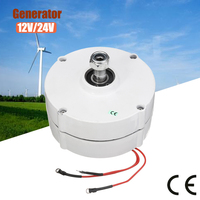 200W 12V 24V 3 Phase PMSG Brushless Electric Wind Power Generator Permanent Alternative Energy Generator for DIY wind turbines