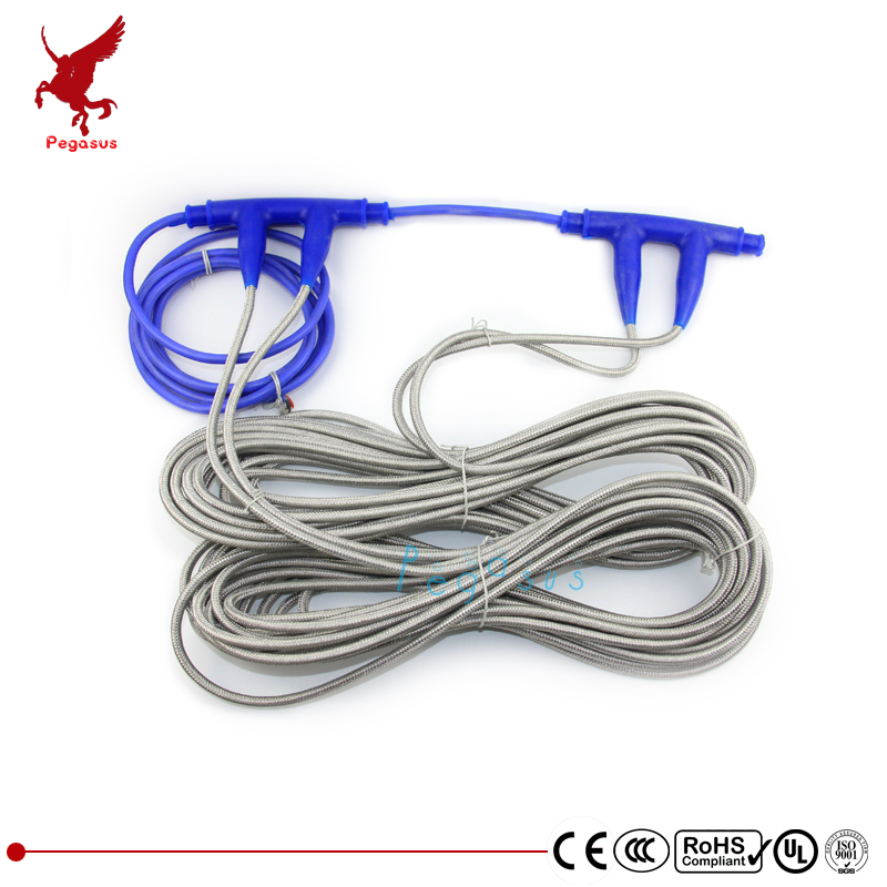 230W Household floor heating cable Shielding type 200V-240V heating line Ultra simple installation T type ground heating line taiwan sec 1 line type electric scissors simple type
