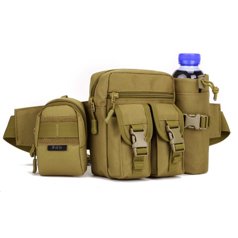 Outdoor Camping Pockets Kit Bag Accessory Small Tactical Package Camo Waist Belt Bags Phone Package