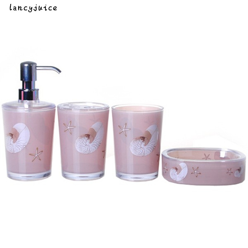 Starfish Bathroom Sets Fashion Unique Lovely Christmas Gift In 2016 New  Fashion Bathroom Accessories Novelty Bath Storage In Bathroom Accessories  Sets From ...