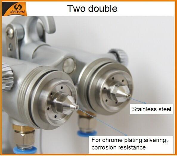 SAT1200 Vendite calde Colore argentatura Cromatura Pistole a spruzzo - Utensili elettrici - Fotografia 2