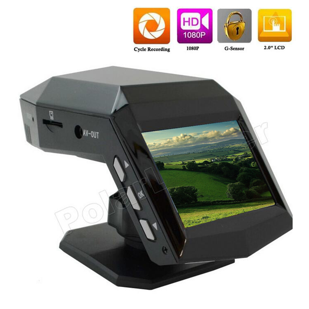 Full HD 1080p 2.0 inch mini Car DVR dash camera black box G-Sensor 30fps IR Night Vision Motion Detection video recorder
