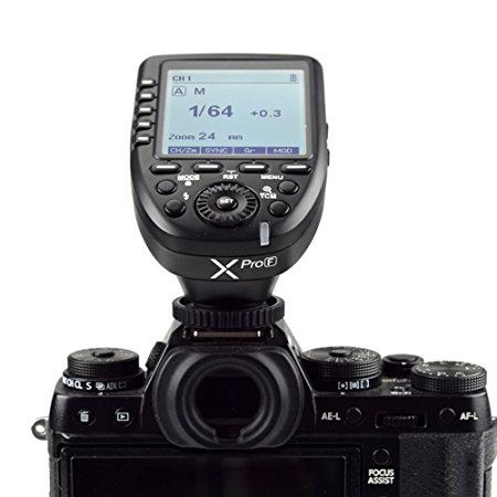 Godox Xpro-F HSS TTL Wireless Flash Trigger 1/8000s HSS TTL-Convert-Manual for Fujifilm Fuji X-Pro2/X-T20/X-T1/X-T2 X100F,X100T godox tt685 tt685f 2 4g wireless hss 1 8000s ttl flash speedlite for fujifilm x pro2 x pro1 x t10 x t20 x t2 x t1 x100f x100