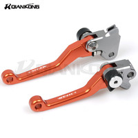 CNC Aluminum Short Stunt Clutch Lever Perch Motorcycle Brake Clutch Levers Assembly FOR KTM 400EXC R