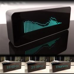 Pantalla VFD, canal, Control remoto, reloj Digital, indicador de nivel de música, FFT, pantalla fluorescente al vacío, LED Spectrym