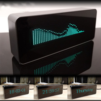 VFD Display 71x15 Remote Control Digital Clock Music Level indicator FFT Vacuum Fluorescent Displayer LED Spectrym Player