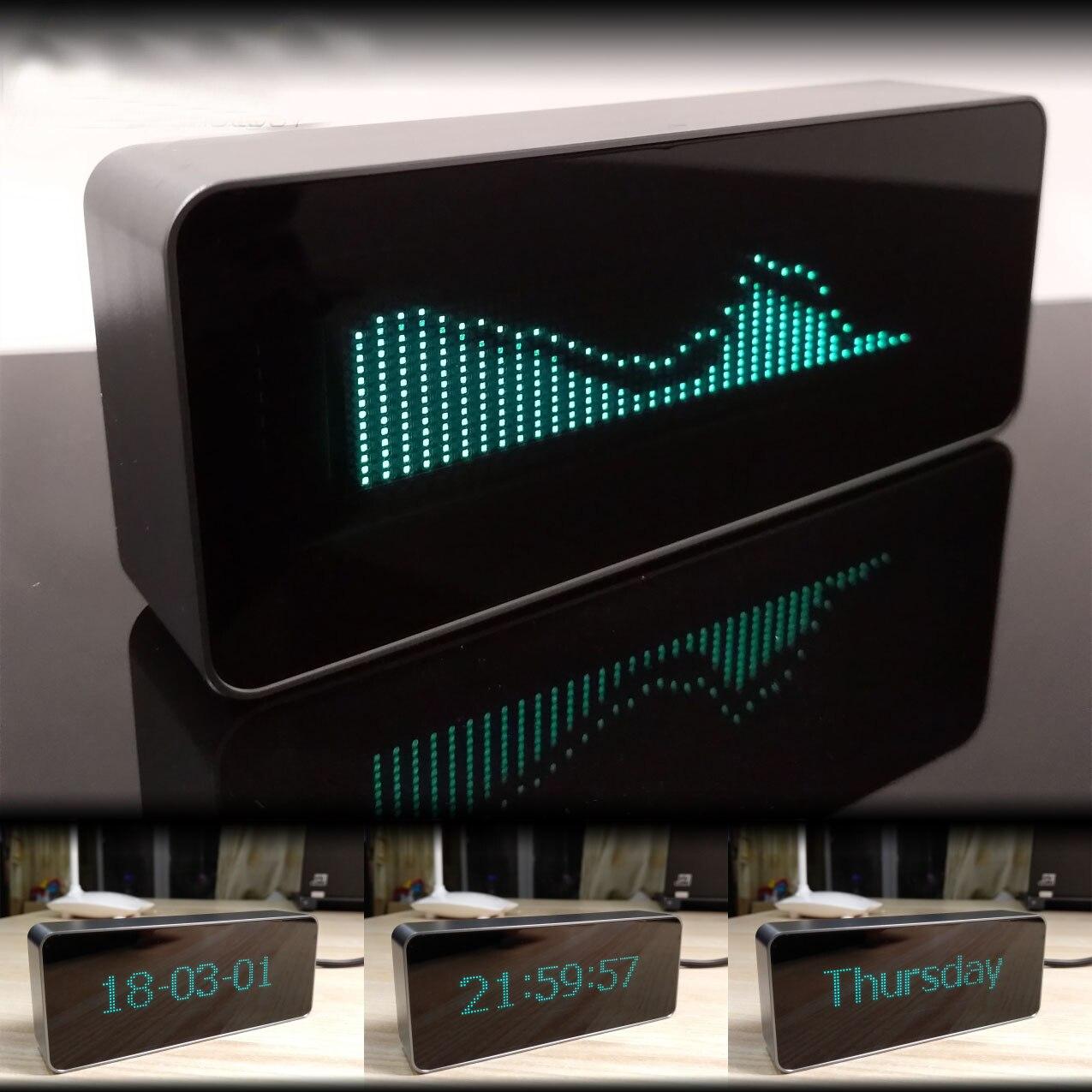 VFD Display Channel Letter Remote Control Digital Clock Music Level Indicator FFT Vacuum Fluorescent Displayer LED Spectrym
