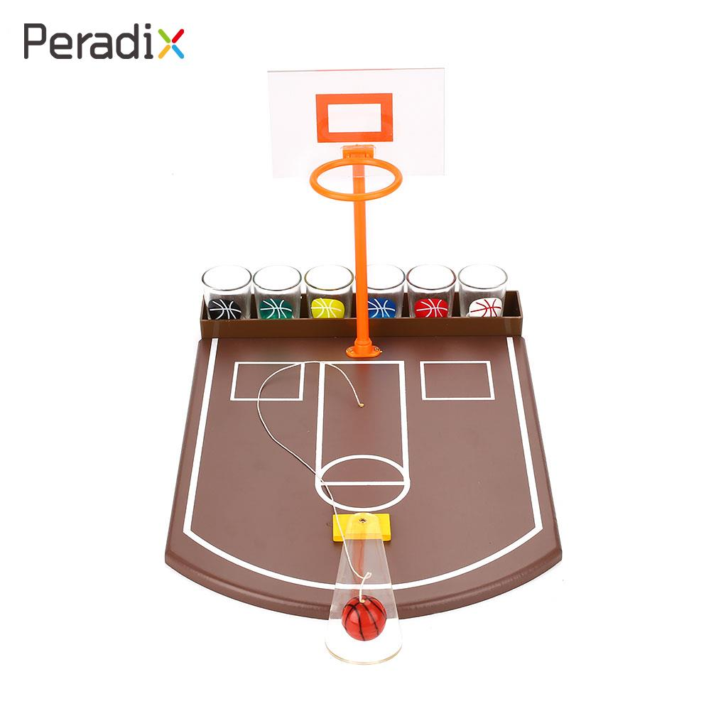 Toy Basketball Entertainment Simulation Basketball 6PCS Glass Adult Basketball Drinking  ...