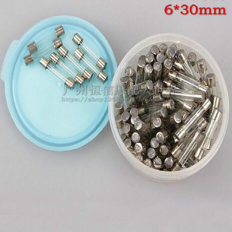 6*30MM scooter fuses motorcycle fuse 20pcs/lot free shipping