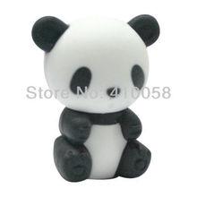 Freeshipping Adroable Cute Animal Eraser New Cute panda  Office Study Rubber Eraser Gifts Eraser