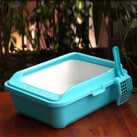 Resin Pet Dog Potty Litter Box Cat Toilet Open Small Corner Toilet Training Dogs Bedpan Arenero Gato Pet Clean Product 70Z2027