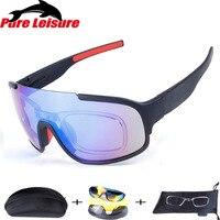 Pureleisure HD смотреть Рыбалка Очки открытый Солнцезащитные очки для женщин мужской Рыбалка 5 объектива Открытый спортивные очки вождения Велос...