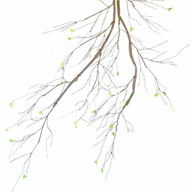 90 см Настоящее прикосновение поддельные ветви деревьев ротанга искусственная Цветочная лоза для дома отеля сада DIY украшения венок Скрапбукинг Цветочный