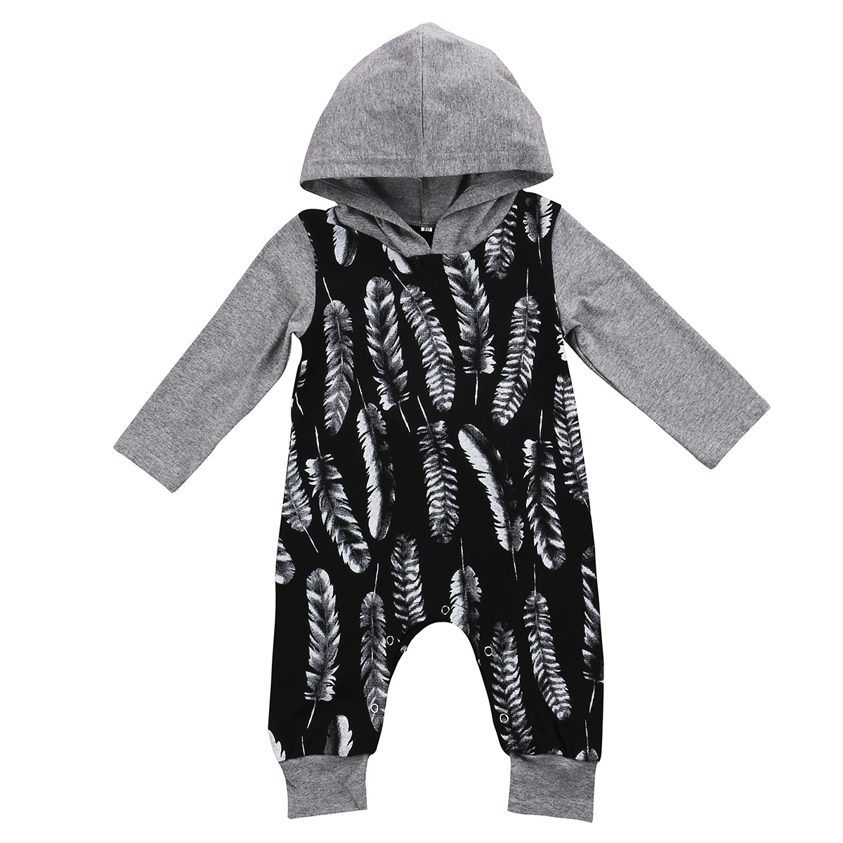 NEW Infant Baby Boys Clothes Long Sleeve Cotton Romper Cute Hooded New Rompers Outfit Clothing Baby Boy US jjlkids baby boys clothing set 100% cotton brand boy tracksuit long sleeve fashion 2015 new arrival children outfit