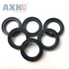 axk 20x45x7 mm 36x46x7 mm tc oil shaft simmer ring rotary shaft seal nitrile seals buna n basl rubber gasket AXK 27x37x7/8  27x38x6/8 Nitrile Rubber NBR Double Lip Spring TC Ring Gasket Radial Shaft Skeleton Oil Seal