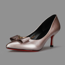 Fashion Womens Pumps Shoes Pointed Toe PU Elegant Dress Women Pumps High Heels Black Gold Silver 2017 New Brand Girl Pumps Shoes