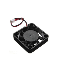 2PC 4010 Cooling Fan 12V 24V 2 Pin with Dupont Wire Brushless  40*40*10 Cool Fans Part Quiet DC Cooler Radiato DIY Prusa I3 Kits цена