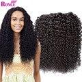 Бразильский Девственные Волосы Курчавые Вьющиеся 3 Пучки Бразильской Вьющиеся Переплетения Человеческих Волос Горячие 8А Бразильский Странный Вьющиеся Волосы Девственницы