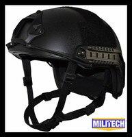 ISO сертифицированный MILITECH черный OCC циферблат nij level IIIA 3A быстро с Пуленепробиваемый Арамидных Баллистических Шлем 5 лет гарантии