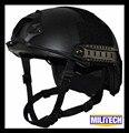 Militech m/lg black occ dial 3a rápido à prova de balas nij nível iiia relatório de teste balístico capacete com hp branco e 5 anos de garantia