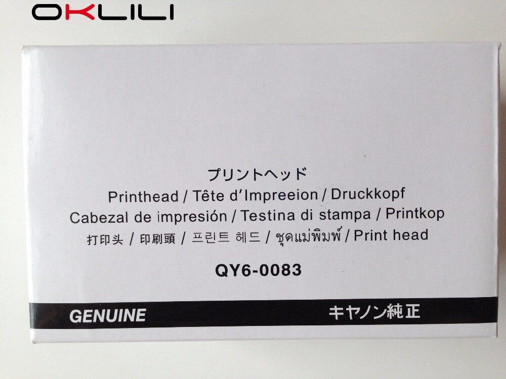 ORIGINAL QY6-0083 Printhead Print Head for Canon MG6310 MG6320 MG6350 MG6380 MG7120 MG7150 MG7180 iP8720 iP8750 iP8780 7110