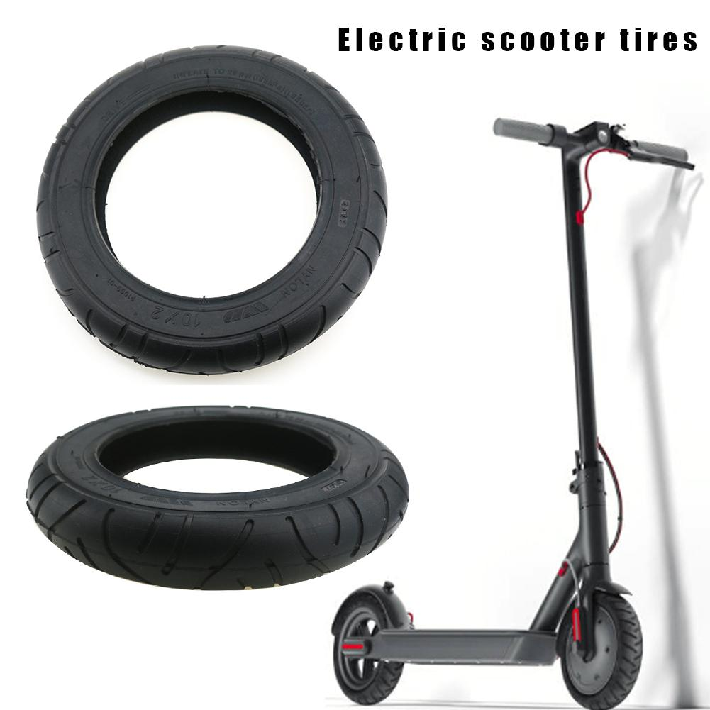 Millet Mijia M365 Scooter Skateboard 10 Inch Tire Solid Tire Shock Absorber Non-inflatable Tire Shock Absorber Rubber Tire Wheel