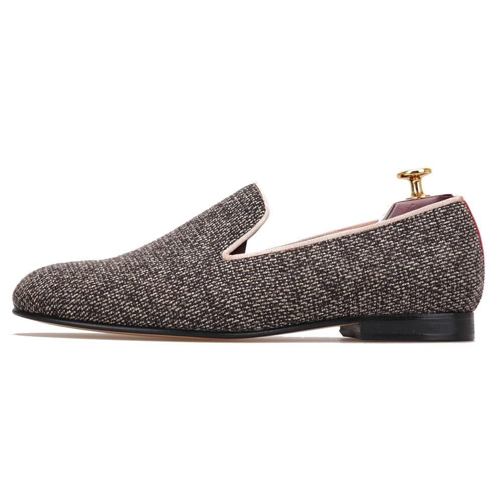 Und Männer Mehrfach Rauchen Hausschuhe Ankunft Mit Baumwolle Neue Schuhe Einlegesohle Echtem Unten Britischen Müßiggänger Männlichen Leder Stoff Mode w5x4q5SzT