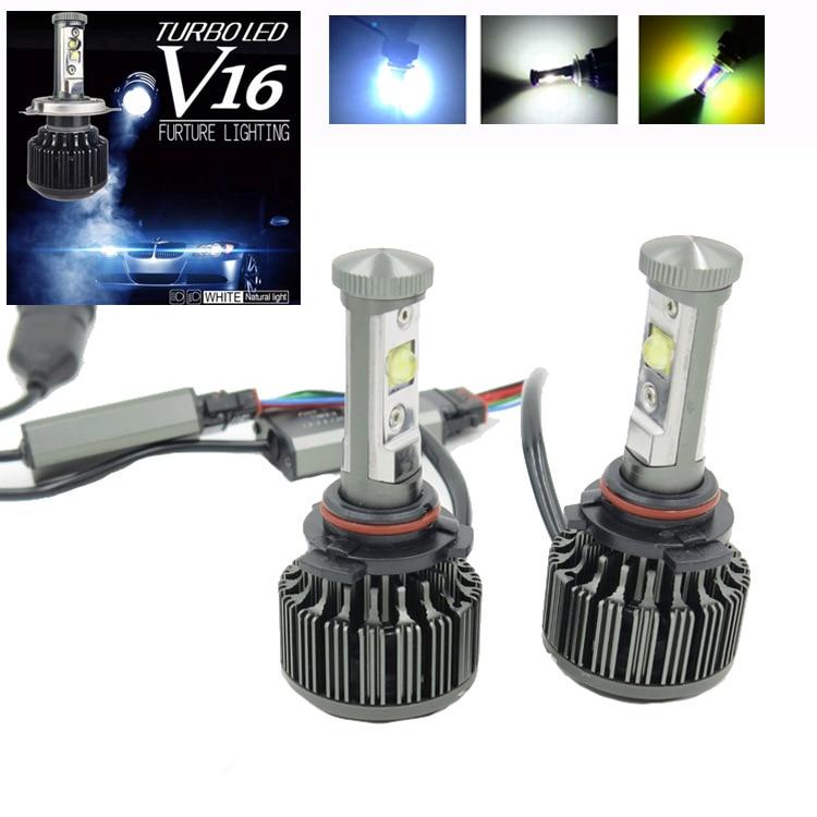 Promotion!2x New Gen H1 H3 H7 H11 9005 9006 30W/Bulb 3800LM/Bulb 6000K LED BULB Hi/Low Headlight Lamp Fog Driving Light