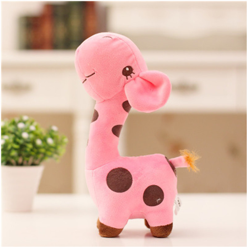 Unisex Cute Gift Plush Giraffe Soft Toy Animal Dear Doll Baby Kid Child 1