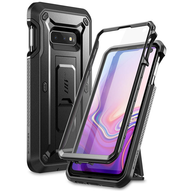 SUPCASE For Samsung Galaxy S10e Case 5.8 inch UB Pro Full Body Rugged Holster Case with Built in Screen Protector & Kickstand