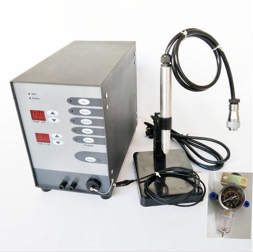 Dentale Macchina di Saldatura a punti Automatico A Controllo Numerico di Tocco Pulse Argon Arc Saldatore per la Saldatura strumenti di Gioielli e attrezzature