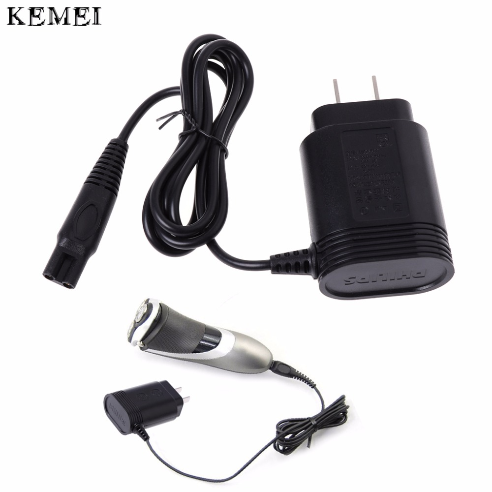 Kemei Portable DC12V/5.4W Black Shaver Charger Power for Philips HQ7 HQ8 HQ9 Norelco Razor AC adapter US Plug New цена и фото