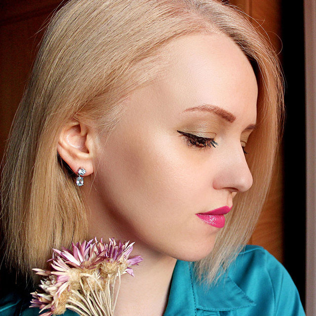 UMCHO Pure 925 Sterling Silver Drop Earrings For Women Oval Faceted Sky Blue Topaz Gemstone Earrings Christmas Gift Fine Jewelry