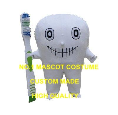 Mauvaise dents mascotte costume offre spéciale dessin animé bouche dent santé dentaire thème anime cosplay costume carnaval 3418