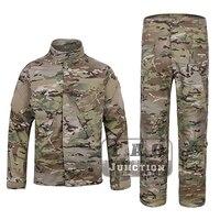 Emerson тактический камуфляж R6 Стиль поле BDU боевые Assult рубашка и брюки комплект форма EmersonGear военно airsoft Пейнтбол Костюмы