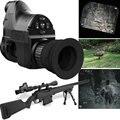 Ótica de Visão noturna Monocular para Riflescope w/Wifi APP Gama 200M 850nm IR Night Vision Visão Âmbito NV caça Câmera Digital